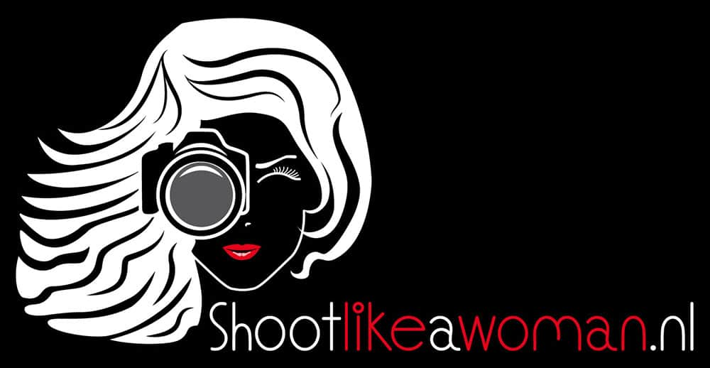 logo ontwerp shoot like a woman