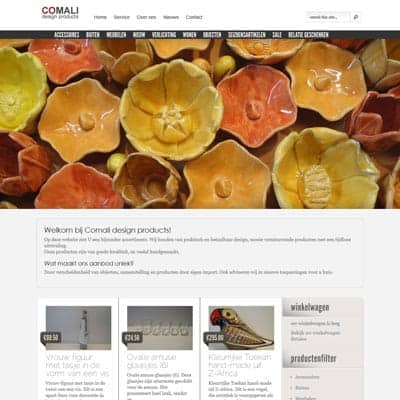 link naar portfolio item Comali