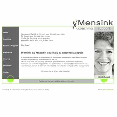 link naar portfolio item Mensink Coaching