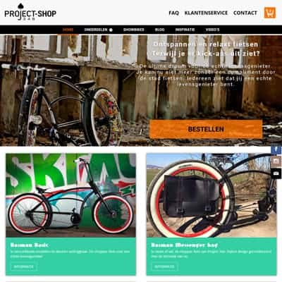 link naar portfolio item Project346shop
