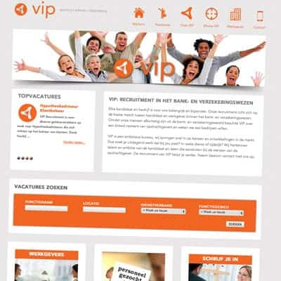 link naar portfolio item VIP recruitment